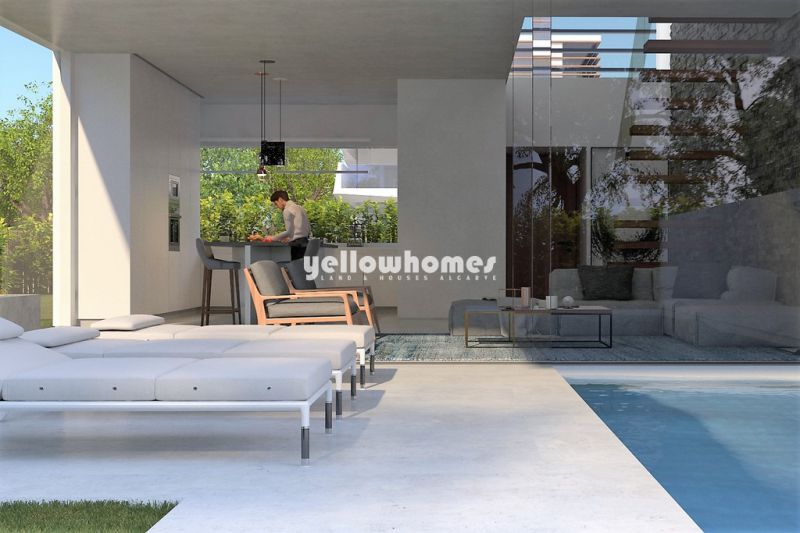 Newly built 3-bed villas with private pool in the Golden Triangle